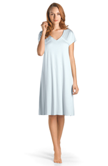 Hanro short sleeve gown