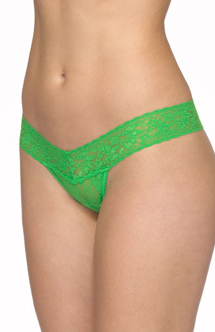 hanky panky low rise thong verdant green