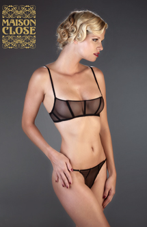 Maison Close Villa Bel Ami string sexy